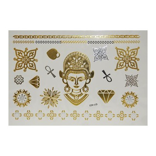 Флеш тату (Metallic Flash Tattoo) GY-022 (21*15)